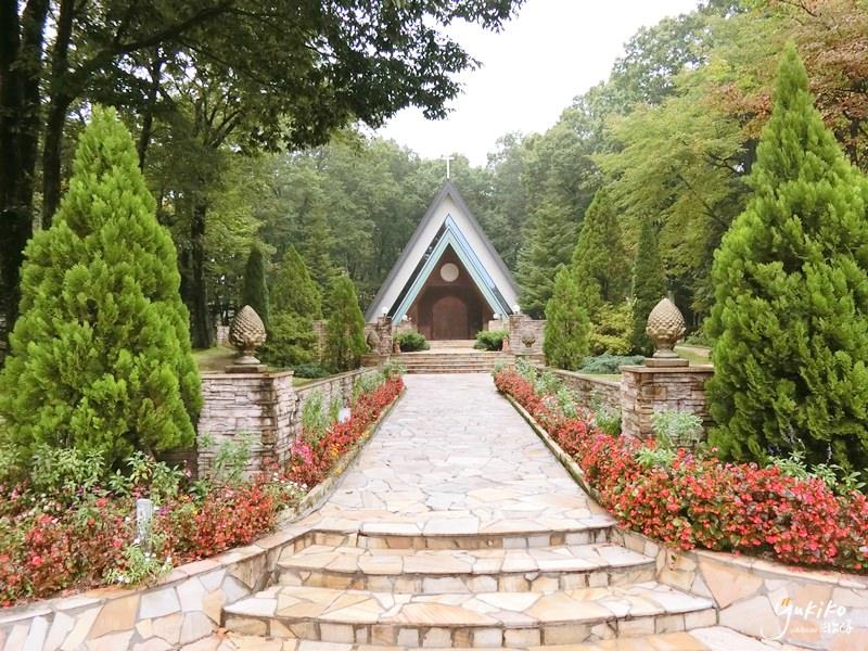 【海外婚禮教堂|日本】 栃木縣 ♥  那須森之教堂~可以舉辦羊駝婚禮的超有FU教堂