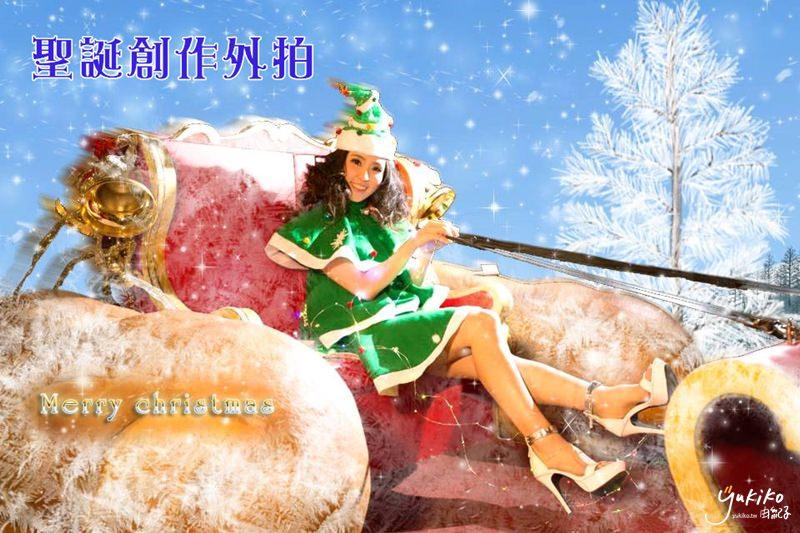 【外拍 ♥ 台北市府轉運站】聖誕樹女孩