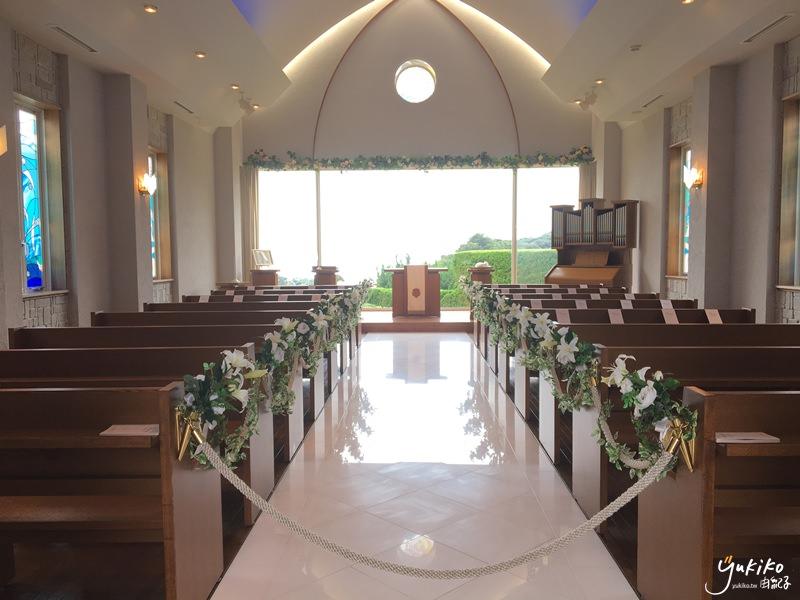 【海外婚禮教堂|日本】 千葉縣 ♥ 南房總海風教堂~遠眺太平洋日本本島的南洋風味教堂