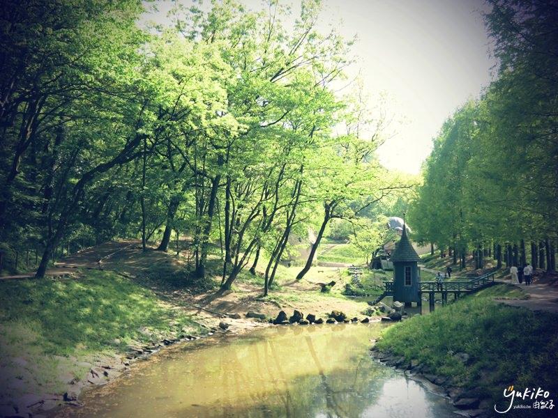 【埼玉縣|玩樂】濃濃北歐風,好療癒身心的嚕嚕米谷~曙光兒童森林公園