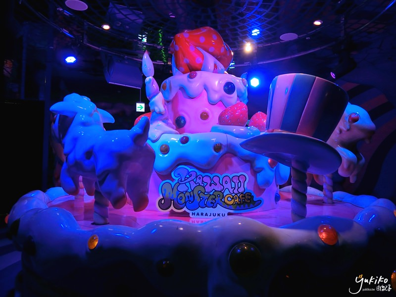 【日本東京 美食】原宿,Kawaii Monster Cafe~可愛怪物咖啡