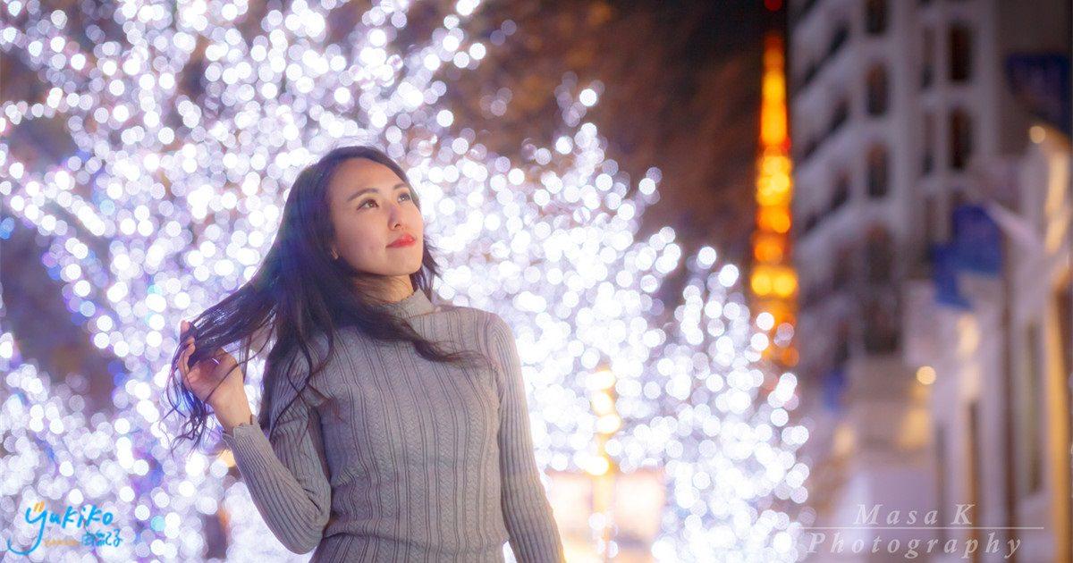 【日本外拍 ♥ 六本木】第一次的日本聖誕外拍