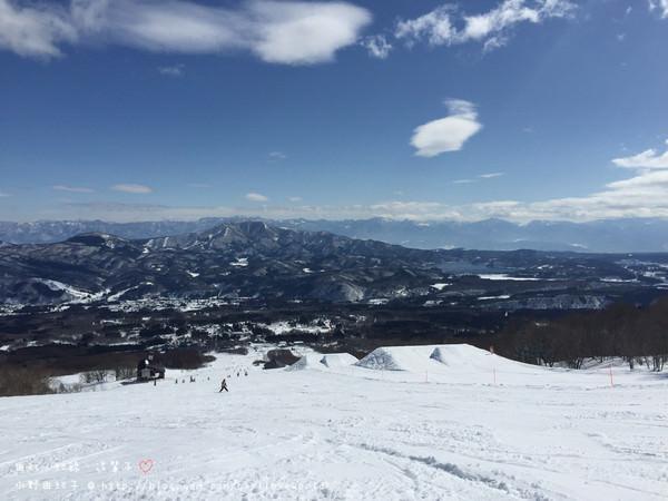 【日本新潟県 ♥ 池の平スキー場】雪場簡介~從緩到陡的雪道都有,人又不多的歡樂雪場~♥