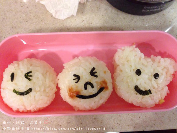 【小廚娘】初體驗的造型手做飯糰